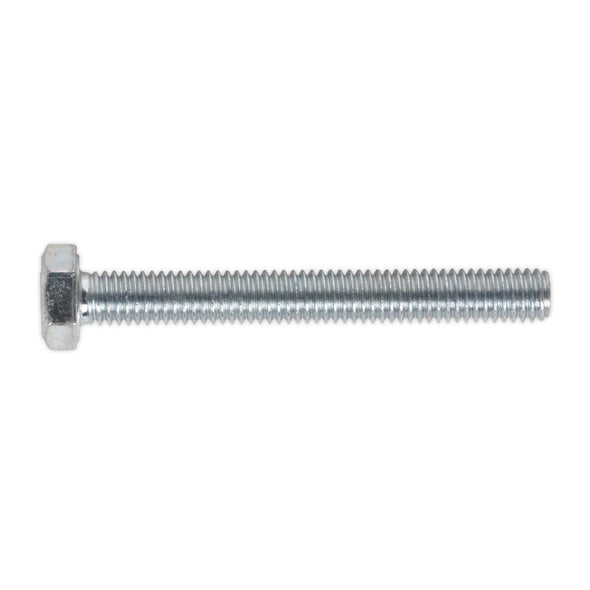 Sealey HT Setscrew M6 x 50mm 8.8 Zinc Pack of 50