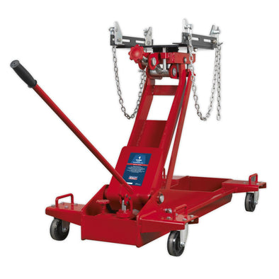 Sealey Premier Transmission Jack 1tonne Floor