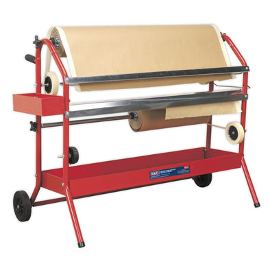 Sealey Masking Paper Dispenser 2 x 900mm Trolley