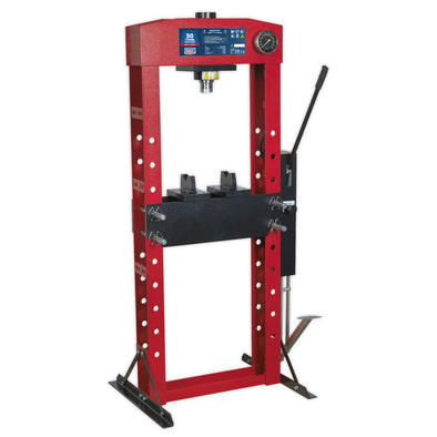 Sealey Premier Hydraulic Press Premier 30tonne Floor Type with Foot Pedal