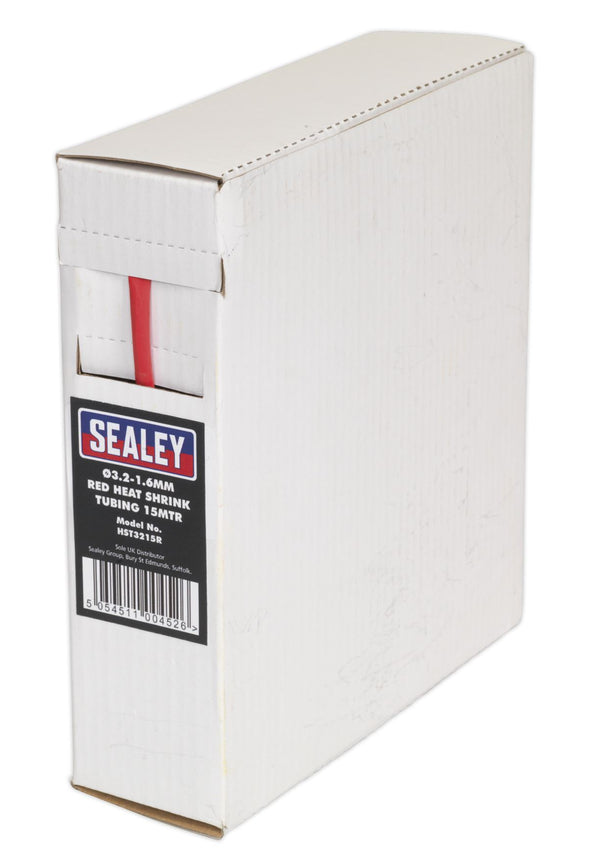 Sealey Black and Red Heat Shrink Tubing on a Roll