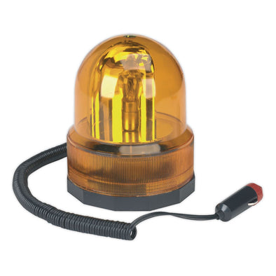 Sealey Rotating Amber Beacon 12V Magnetic Base