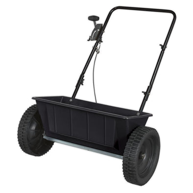 Sealey Drop Spreader 27kg Walk Behind