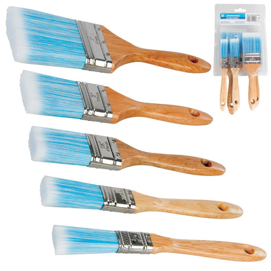 Silverline Synthetic Brush Set 5 Pieces 19mm-75mm