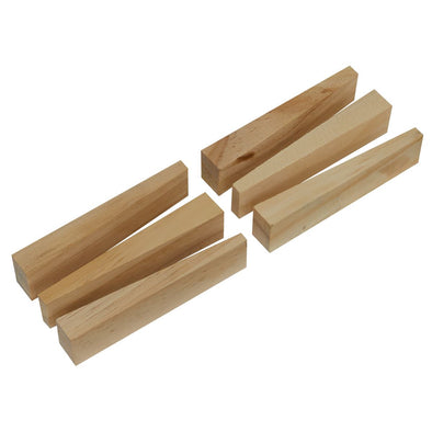 Worksafe by Sealey Wooden Wedge Kit 6pc