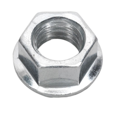 Sealey Flange Nut Serrated M10 Zinc Pack of 100