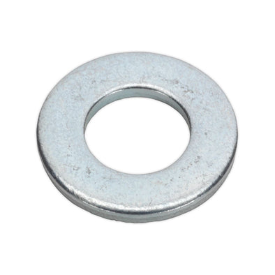 "Sealey Flat Washer 3/16"" x 7/16"" Table 3 Imperial Zinc Pack of 100"
