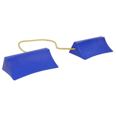 Sealey Plastic Wheel Chocks - Pair