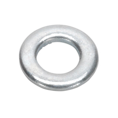 Sealey Flat Washer M5 x 10mm Form A Zinc Pack of 100