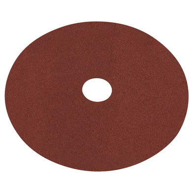 Worksafe by Sealey Fibre Backed Disc Ø100mm - 60Grit Pack of 25