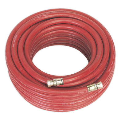 "Sealey Air Hose 20m x Ø10mm with 1/4""BSP Unions"