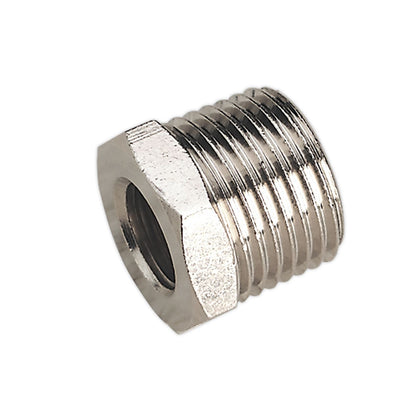 "Sealey Adaptor 1/2""BSPT Male to 1/4""BSP Female"