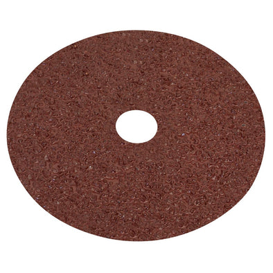 Worksafe by Sealey Fibre Backed Disc Ø100mm - 16Grit Pack of 25