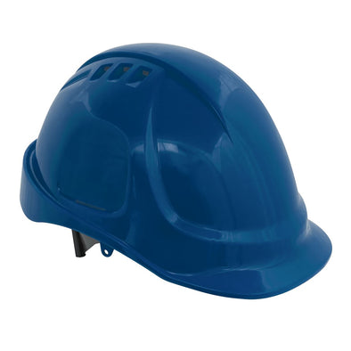Worksafe by Sealey Plus Safety Helmet - Vented (Blue)