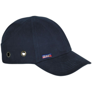 Sealey Safety Baseball Bump Cap - Navy