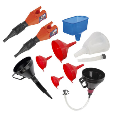 Sealey Funnel Combo 10pc