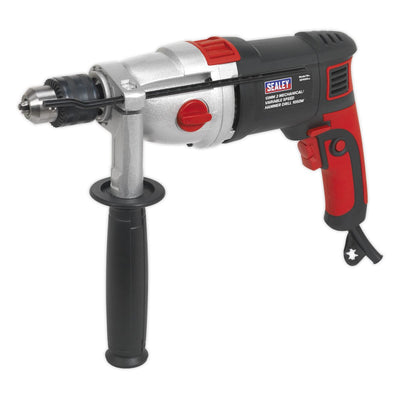 Sealey Hammer Drill Ø13mm 2 Mechanical/Variable Speed 1050W/230V