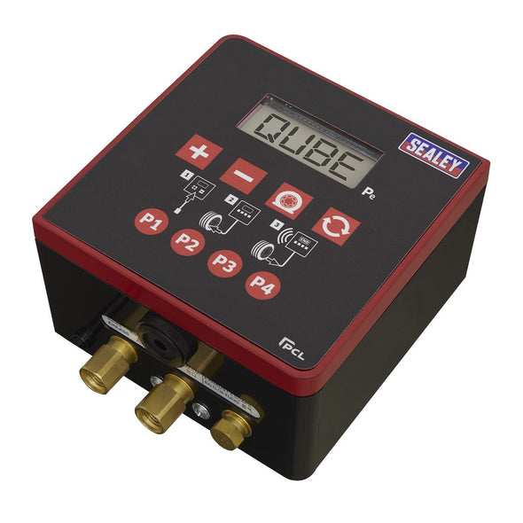 Sealey Qube Digital Tyre Inflator Professional with OPS + Nitrogen Purge