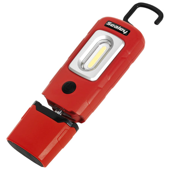 Sealey 360 COB LED Rechargeable Inspection Lamp 220 Lumens