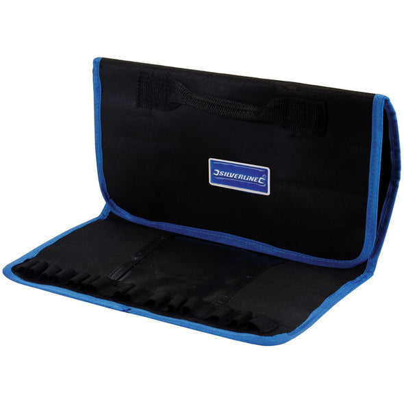 Silverline Expert Tool Roll 760x300mm Carry Bag Multi Pocket Strong Handles