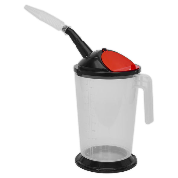 Sealey Measuring Jug with Flexible Spout 5L