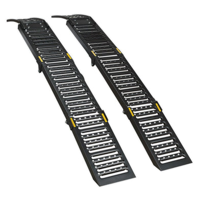 Sealey Steel Folding Loading Ramps 500kg Capacity per Pair