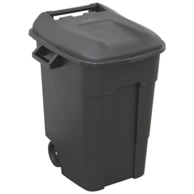 Sealey Refuse/Wheelie Bin 100L - Black