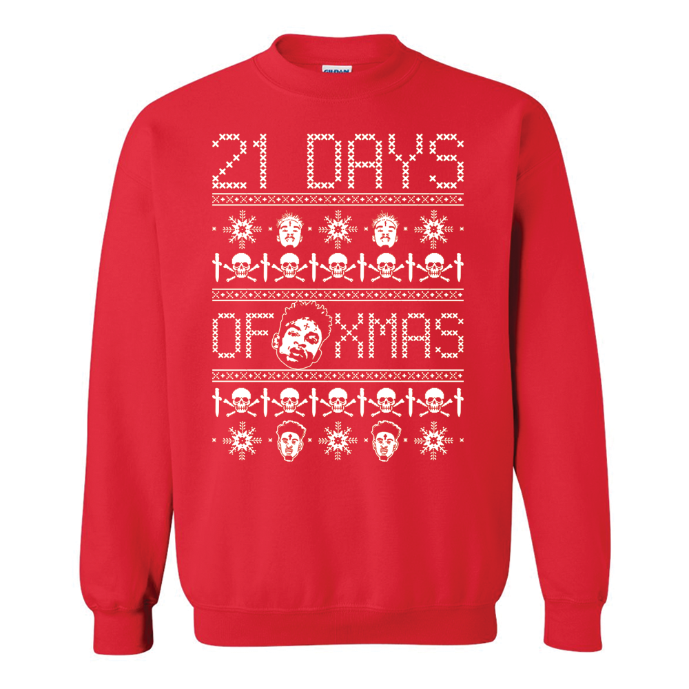 21 Savage Christmas.21 Savage 21 Days Of X Mas Ugly Christmas Sweater