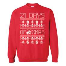 Load image into Gallery viewer, 21 Savage 21 Days of X-Mas Ugly Christmas Sweater
