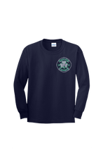 Load image into Gallery viewer, SF280 - Navy YOUTH Long Sleeve Shirt