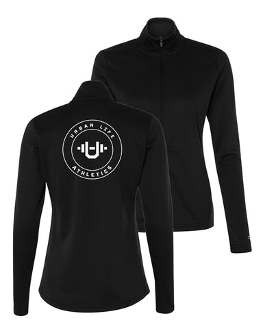 Women's Black Zip-Up