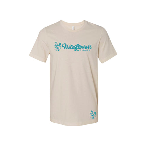 Wildflowers Armory - Natural Unisex Short Sleeve