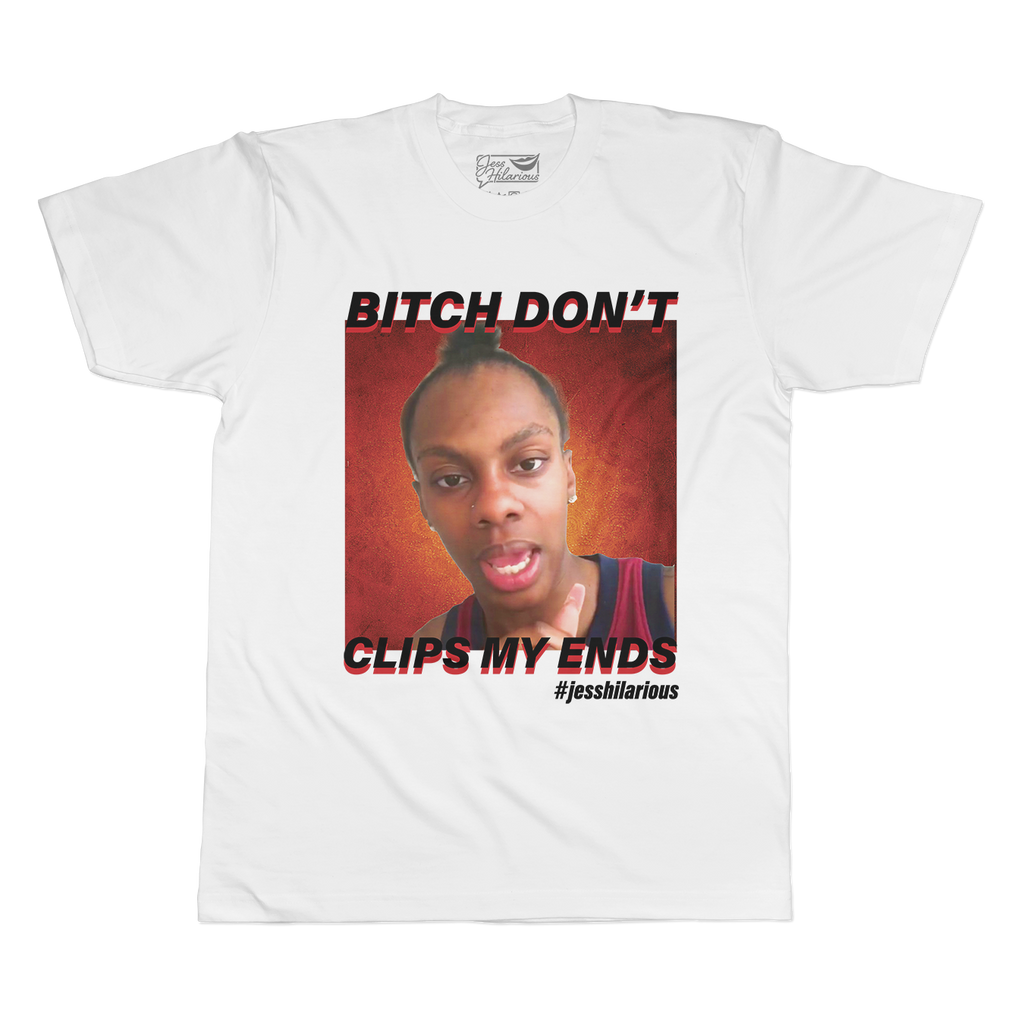 Don't Clips My Ends - Unisex Short Sleeve