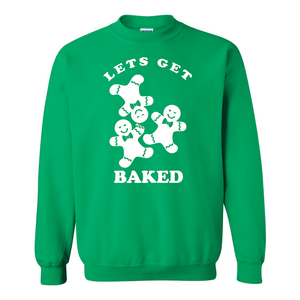 Let's Get Baked Ugly Christmas Sweater