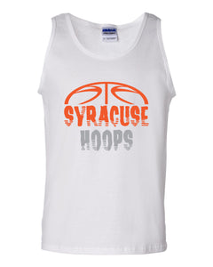 Hoops White Men's Tank Top