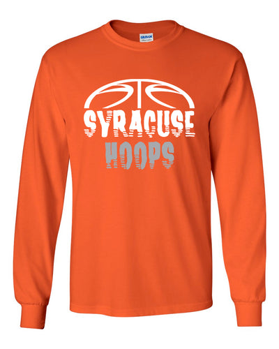 Hoops Orange Long sleeve