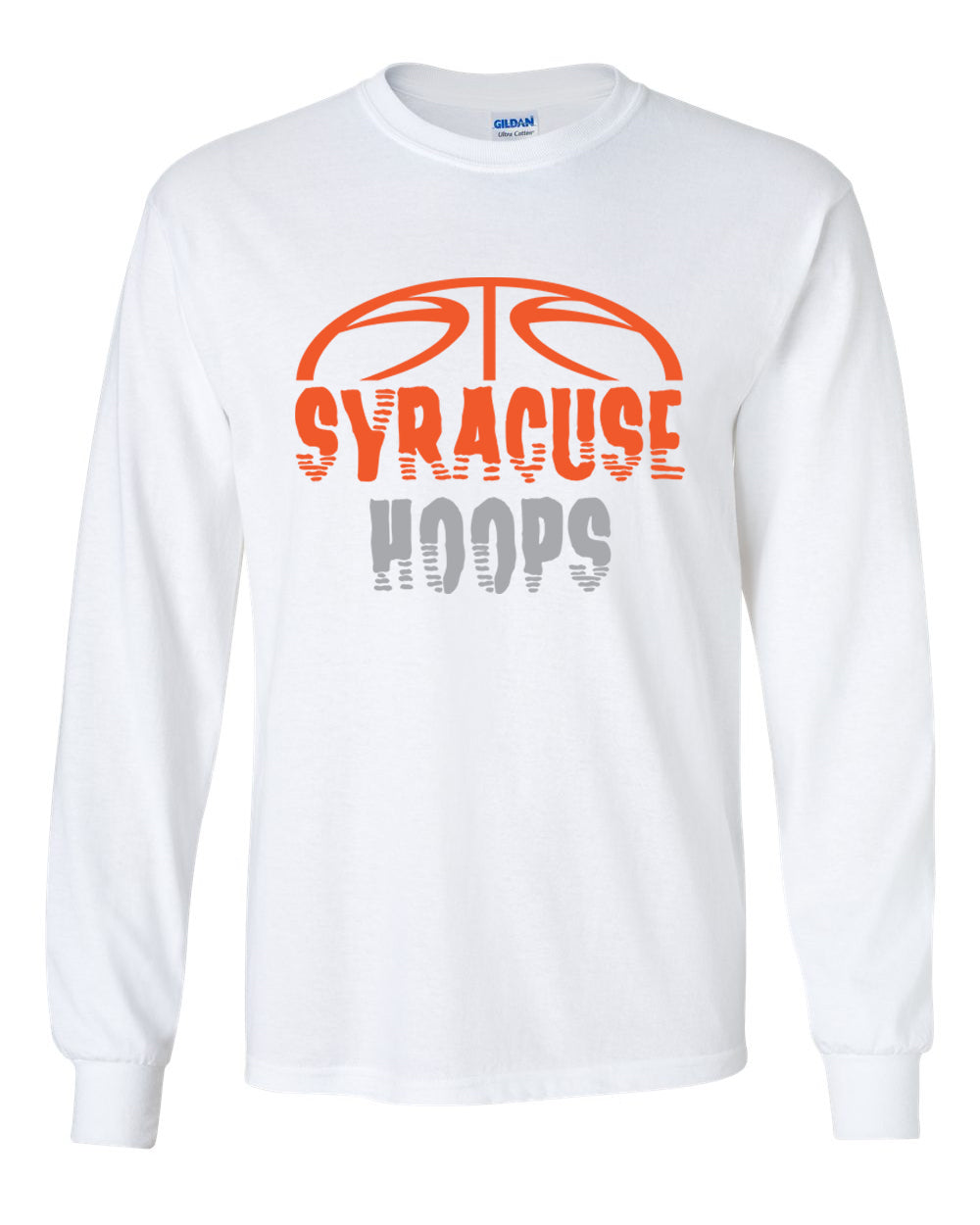 Hoops White Long sleeve