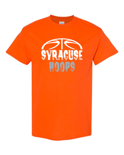 Hoops Orange T-Shirt