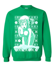 Load image into Gallery viewer, Chilly Bulma Dragon Ball - Ugly Christmas Sweater
