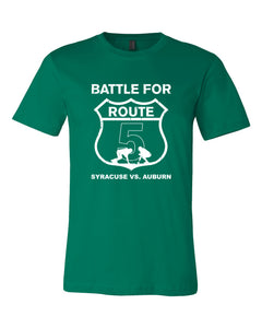 Syracuse Strong Battle For Route 5 T-shirt