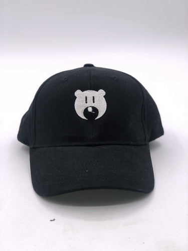 Black and White Bear Logo - Hat