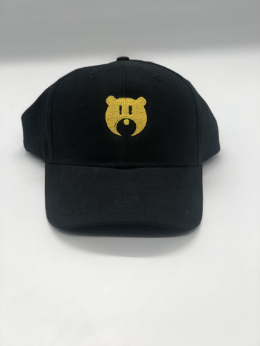 Black and Gold Bear Logo - Hat