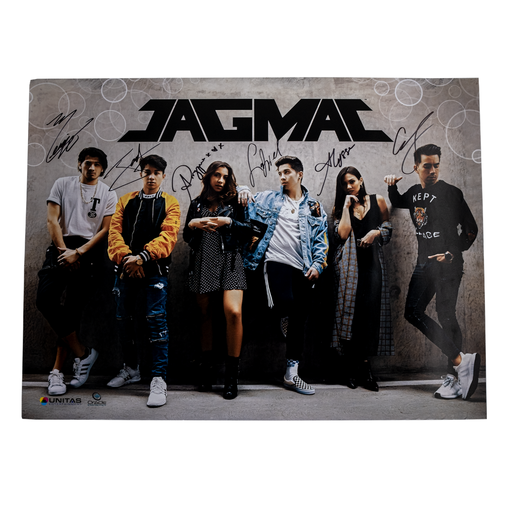 JAGMAC signed poster
