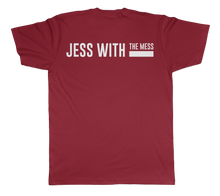 Load image into Gallery viewer, Jess With The Mess - Unisex Cardinal Short Sleeve