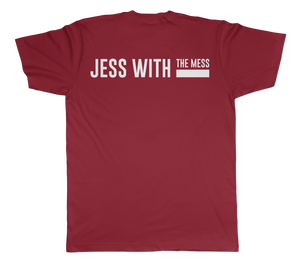 Jess With The Mess - Unisex Cardinal Short Sleeve