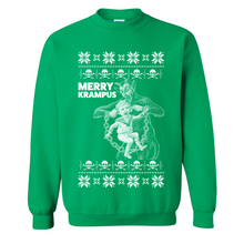 Load image into Gallery viewer, Merry Krampus Ugly Christmas Sweater