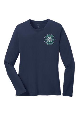 SF280 - Navy Women's Long Sleeve Shirt