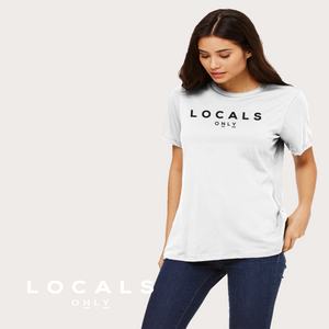 Locals Only - White