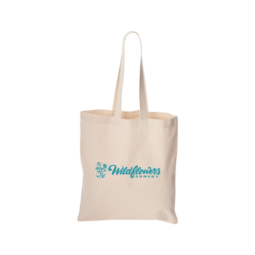 Wildflowers Armory - Canvas Tote