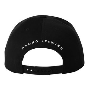 OBC 3D Puff Embroidery Black Hat - White Logo